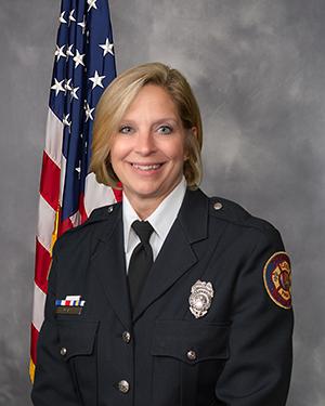Executive Fire Support Manager Jacque McLaughlin Portrait