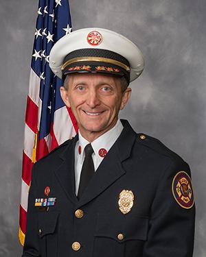Deputy Chief Toepper Portrait